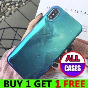 *NEW iPhone Max/XS/X/7/8/Plus Galaxy Star Case